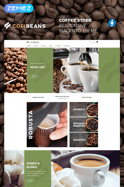 Cafe and Restaurant website inspirations at your coffee break? Browse for more Vendors #templates! // Regular price: $179 // Sources available: #Cafe and Restaurant #Vendors