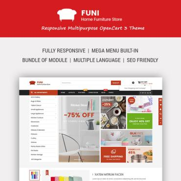 OpenCart Template # 67641