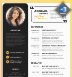 Template 67792 Resume Templates