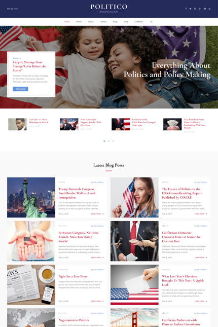 Politics Most Popular website inspirations at your coffee break? Browse for more Vendors #templates! // Regular price: $75 // Sources available: #Politics #Most Popular #Vendors