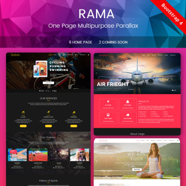 Landing Page Template # 67827