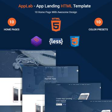 Landing Page Template # 67852