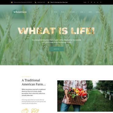 WordPress Theme # 67924