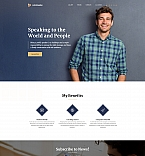 Personal Coach Landing Page Template