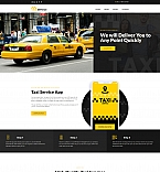 Taxi Service Landing Page Template