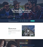 Modern Church Landing Page Template