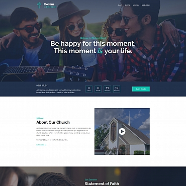 Landing Page Template # 67959