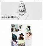 Photo Art Landing Page Template