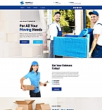 Moving Company Landing Page Template
