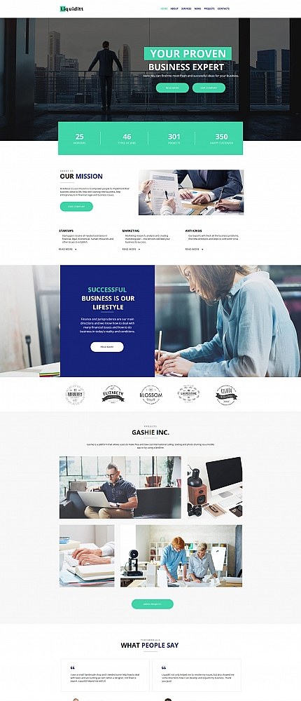 Business website inspirations at your coffee break? Browse for more Moto CMS HTML #templates! // Regular price: $139 // Sources available:<b>Sources Not Included</b> #Business #Moto CMS HTML