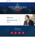 Political Landing Page Template