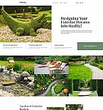 Landscape Design Landing Page Template