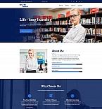 Learning Center Landing Page Template