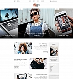 VBlog Landing Page Template