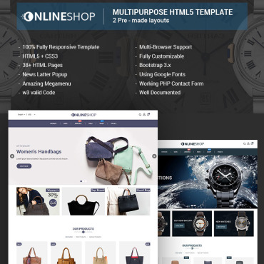 Website Template # 68267