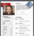 Template 68281 Resume Templates