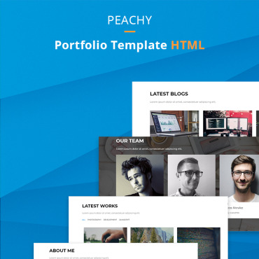 Landing Page Template # 68381