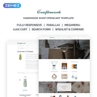 OpenCart Template # 68406