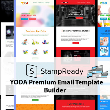 Newsletter Template # 68504
