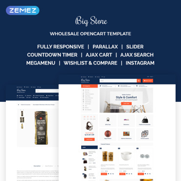 OpenCart Template # 68511