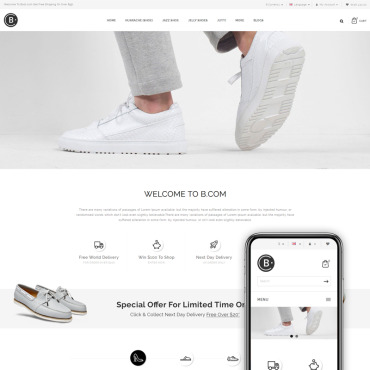OpenCart Template # 68528