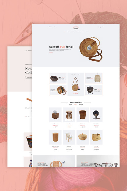 Wedding website inspirations at your coffee break? Browse for more Vendors #templates! // Regular price: $85 // Sources available: #Wedding #Vendors