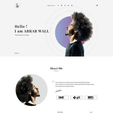 Landing Page Template # 68585