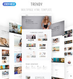 Download Template Monster HTML Template 68839