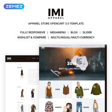OpenCart Template # 69083