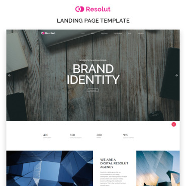 Landing Page Template # 69168