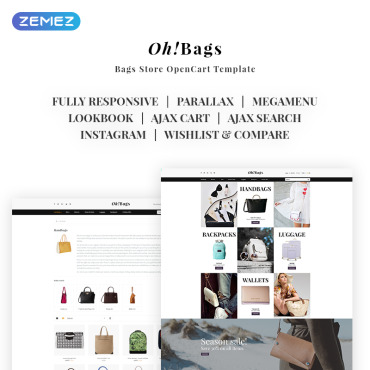 OpenCart Template # 69316