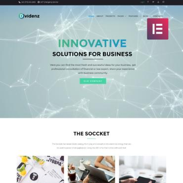 WordPress Theme # 69423