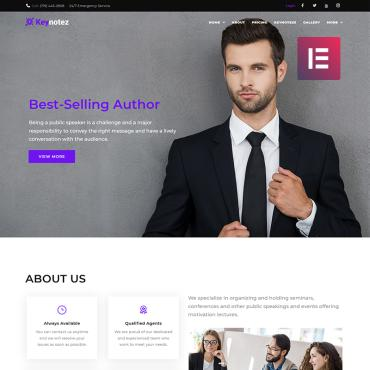 WordPress Theme # 69481