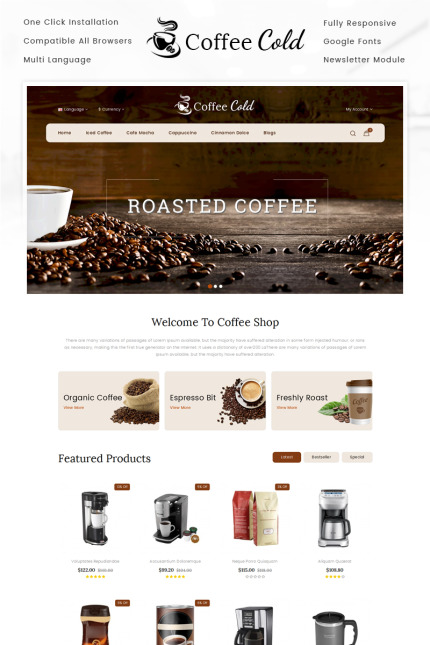 Cafe and Restaurant Most Popular website inspirations at your coffee break? Browse for more Vendors #templates! // Regular price: $67 // Sources available: #Cafe and Restaurant #Most Popular #Vendors
