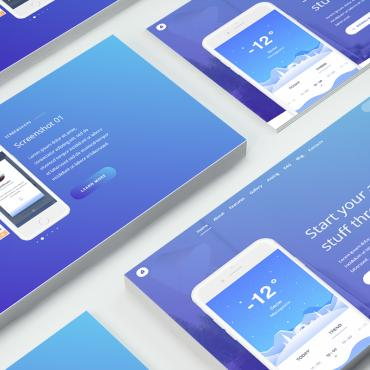 Landing Page Template # 69581