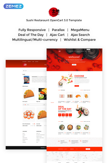 Cafe and Restaurant website inspirations at your coffee break? Browse for more Vendors #templates! // Regular price: $69 // Sources available: #Cafe and Restaurant #Vendors