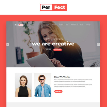 Landing Page Template # 69682