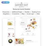 Restaurant & Cafe Vendors Template
