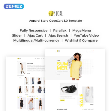 OpenCart Template # 69709