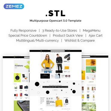 OpenCart Template # 69710