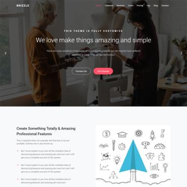 Landing Page Template # 69935