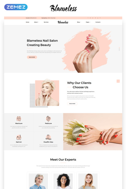 Beauty website inspirations at your coffee break? Browse for more Vendors #templates! // Regular price: $72 // Sources available: #Beauty #Vendors