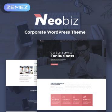 WordPress Theme # 70001