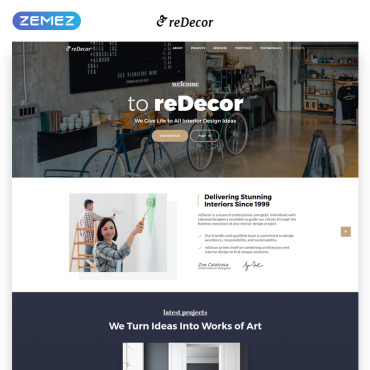 Landing Page Template # 70095