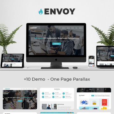 Landing Page Template # 70109