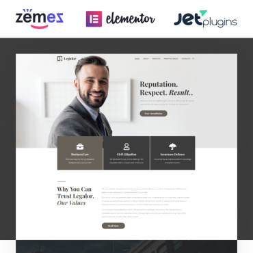 WordPress Theme # 70389