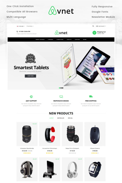 Electronics website inspirations at your coffee break? Browse for more Vendors #templates! // Regular price: $70 // Sources available: #Electronics #Vendors