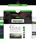 Template 70619 Landing Page Templates