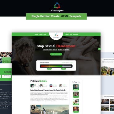 Landing Page Template # 70619