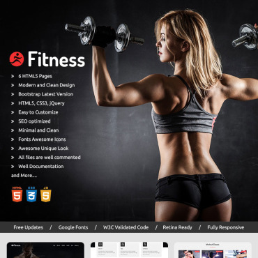 Landing Page Template # 70637